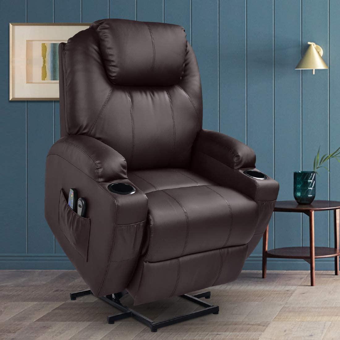 1. MAGIC UNION Power Lift Massage Recliner Chair