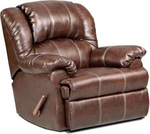 8.Roundhill Furniture Bonded Leather Recliner